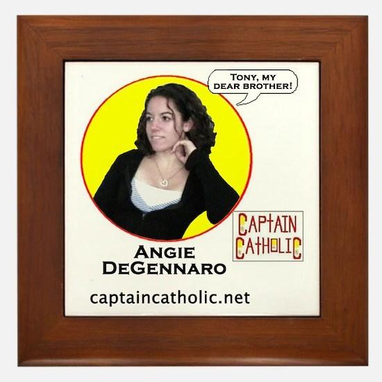 Angie DeGennaro - Character Spotlight  Framed Tile