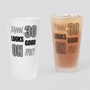 Funny 30th Birthday (Damn) Drinking Glass