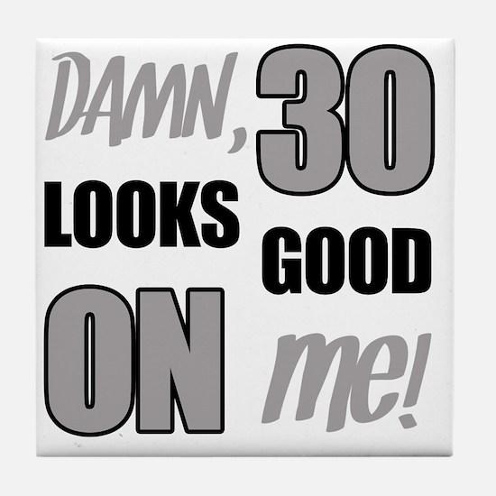 Funny 30th Birthday (Damn) Tile Coaster