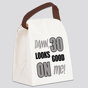 Funny 30th Birthday (Damn) Canvas Lunch Bag