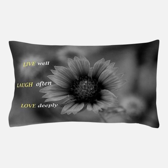 Cute Live laugh love Pillow Case