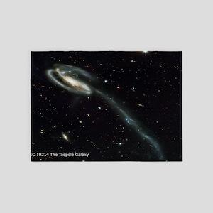 UGC 10214 The Tadpole Galaxy Large  5'x7'Area Rug