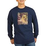 Crane's Frog Prince Long Sleeve Dark T-Shirt