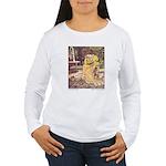 Crane's Frog Prince Women's Long Sleeve T-Shirt