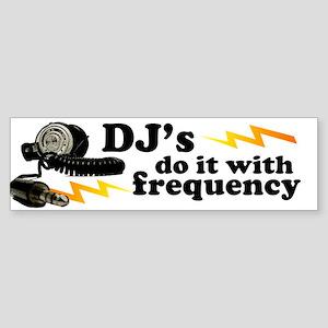 Frequency Bumper Sticker