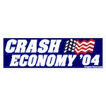 Mock Crash Economy Bumper Sticker