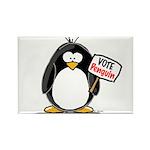 Vote Penguin Rectangle Magnet (100 pack)