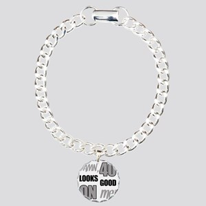 Funny 40th Birthday (Dam Charm Bracelet, One Charm