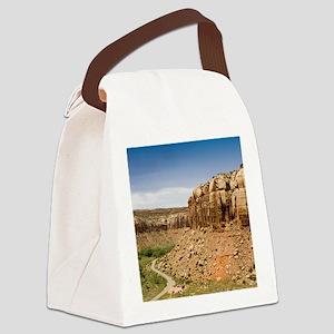 rndornaIndianCreek Canvas Lunch Bag