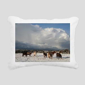 js 093 Rectangular Canvas Pillow