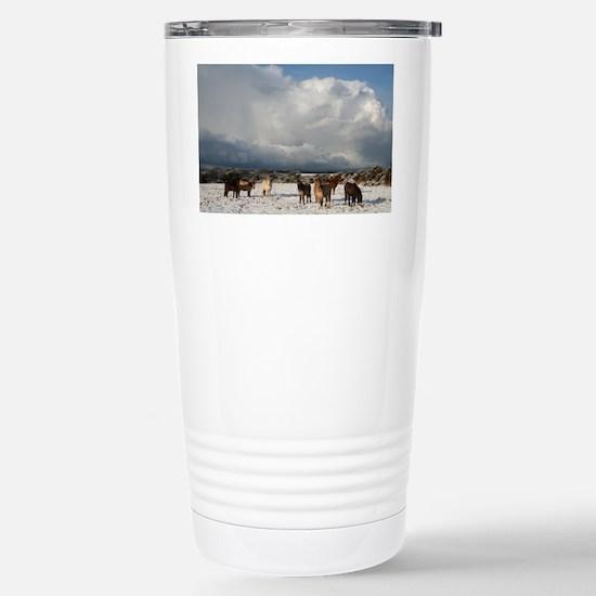 js 093 Stainless Steel Travel Mug