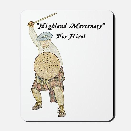 highland-mercenary001b1 Mousepad