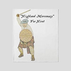 highland-mercenary001b1 Throw Blanket