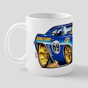 MM69camaroBluHdFloat Mug