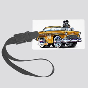 MM55chevGASfloat Large Luggage Tag