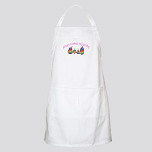 Love Makes A Family  BBQ Apron