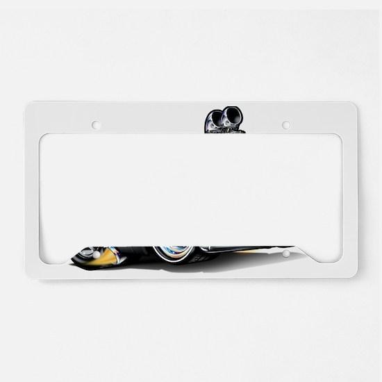 MM62pontCatBlakFloat License Plate Holder