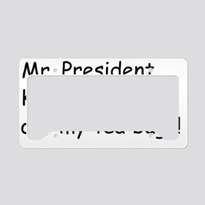 1Mr. President2 License Plate Holder
