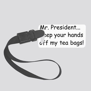 1Mr. President2 Small Luggage Tag