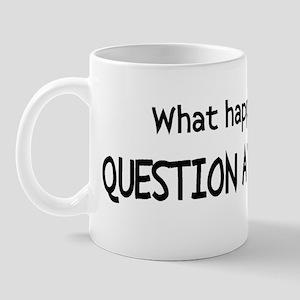 WHATHAPPENED Mug