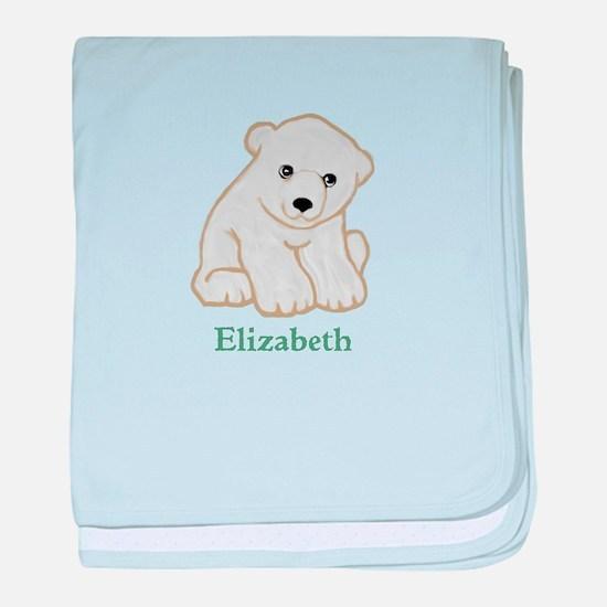 Baby Polar Bear baby blanket