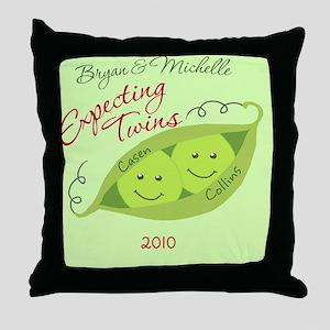 BryanandMichelle3 Throw Pillow