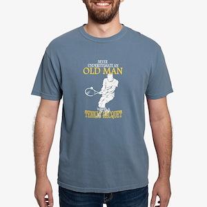 Never Underestimate Tennis Old Man T-Shirt