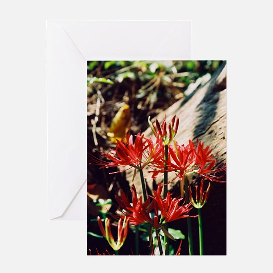 group lily Greeting Card