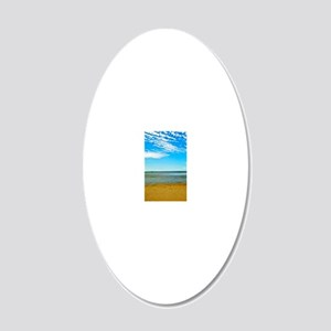 P1011106 20x12 Oval Wall Decal