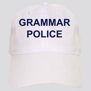 GrammarPoliceNavyBlueBack Cap