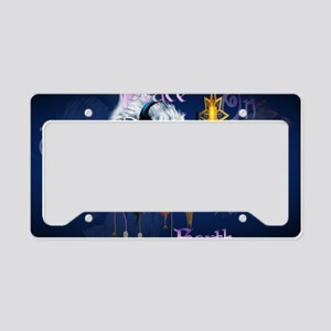Peace On Earth-Yardsign License Plate Holder