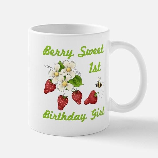 Berry Sweet 1st Birthday Mug