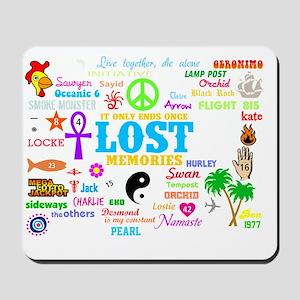 LOST V3 -dk Mousepad