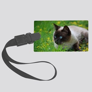 Ready to attack! Large Luggage Tag