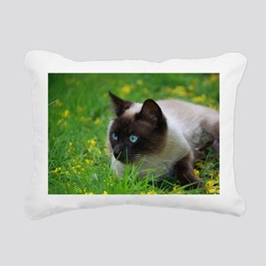 Ready to attack! Rectangular Canvas Pillow