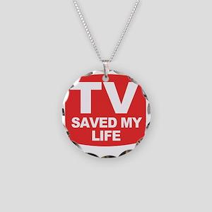 savedmylife Necklace Circle Charm