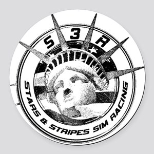 s3rsketch Round Car Magnet
