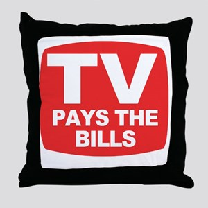 paysthebills Throw Pillow
