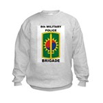 8th Military Police Brigade Kids Sweatshirt