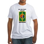 8th Military Police Brigade Fitted T-Shirt