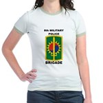 8th Military Police Brigade Jr. Ringer T-Shirt