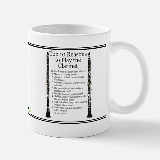 Clarinet Top 10 Mug