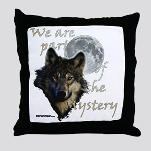 Mystery_trans-bckgrd-2 Throw Pillow