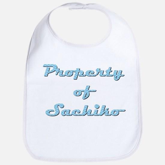 Property Of Sachiko Female Cotton Baby Bib