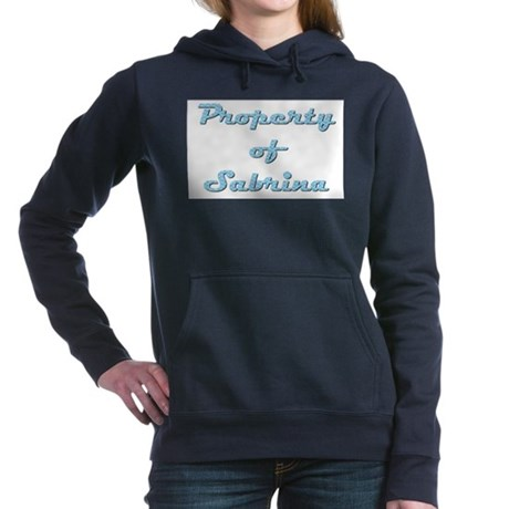 Property Of Sabrina Female Women's Hooded Sweatshi
