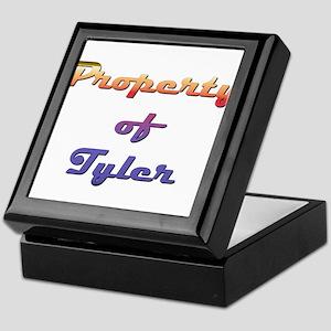 Property Of Tyler Male Keepsake Box