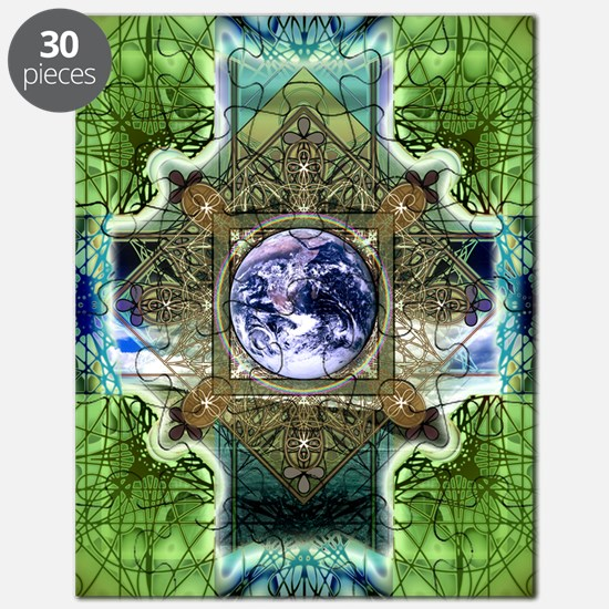 Earth-Ascension-Peace-Mandala Puzzle