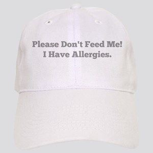 Please Don't Feed Me! I Have Allergies. Baseball C