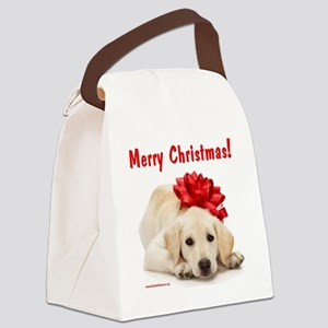 merry_christmas_3 Canvas Lunch Bag