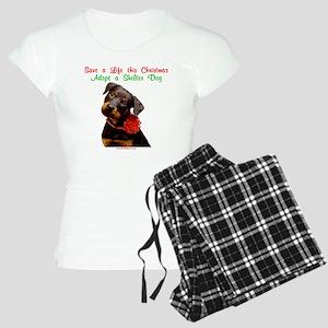 merry_christmas_15-1 Women's Light Pajamas